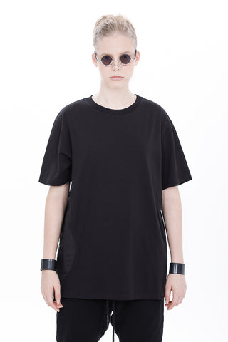 NYLON SIDE CIRCLE T-SHIRT