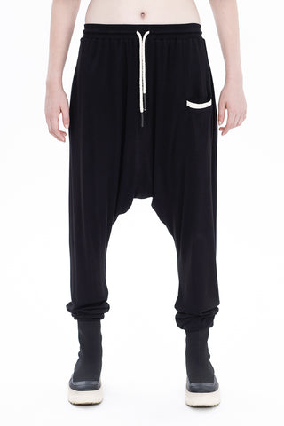 BS-WIDE DROP CROTCH PANTS