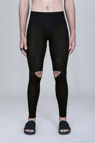 KNEE SLIT LIGHT LEGGINGS