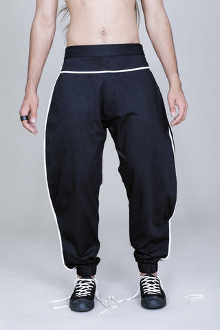 BANANA COTTON TROUSERS