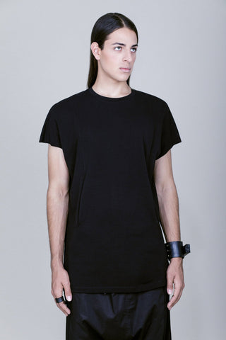 FRONT HIDDEN POCKETS TEE
