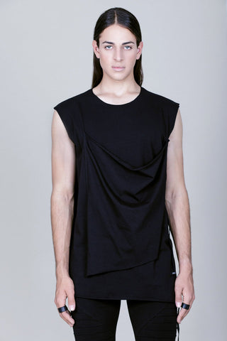 FRONT LAYERED ADJUSTABLE TANK TOP