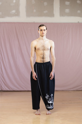 CORONA BUSTERS WIDE WRAP PANTS