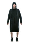 FLY 'O' LONG BOMB HOODIE DRESS