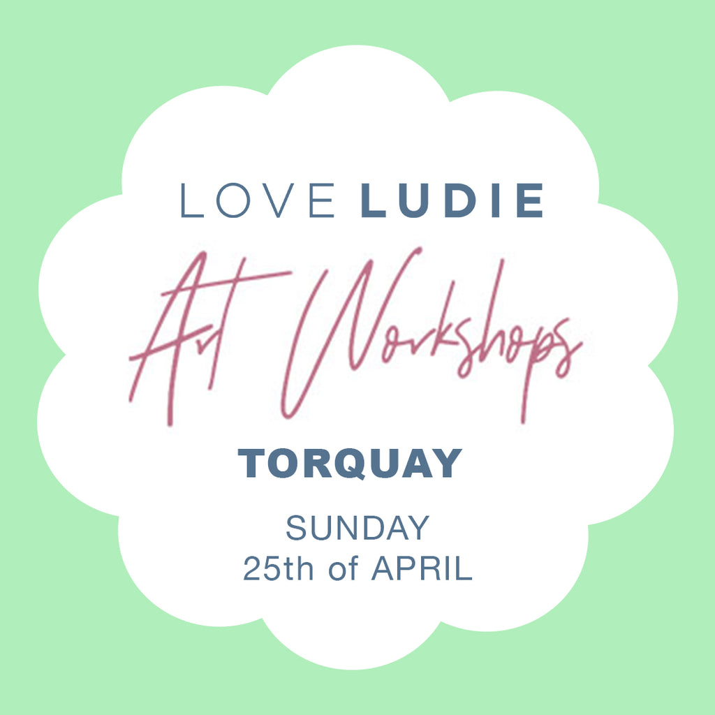 ART WORKSHOP - TORQUAY // APRIL 25th