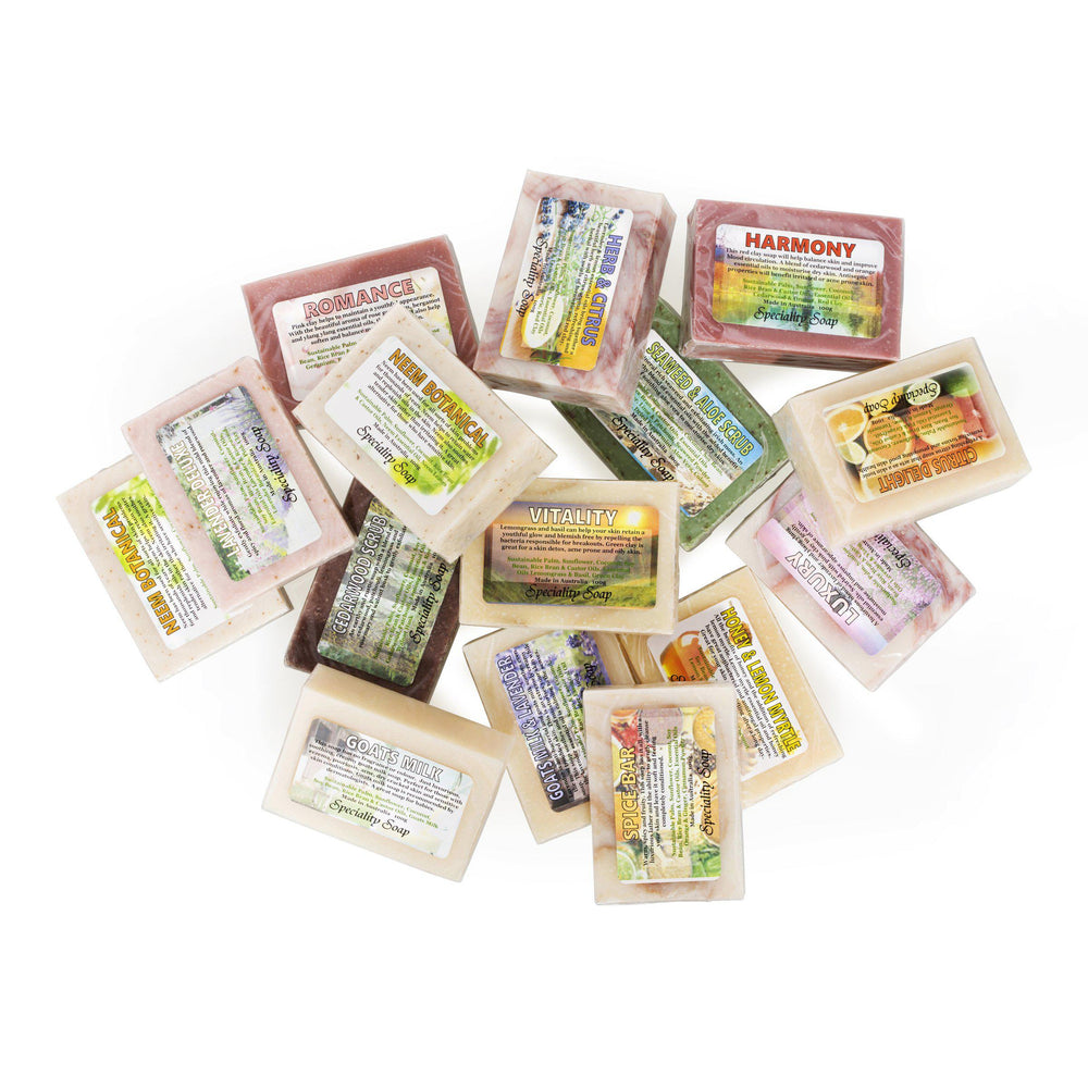 100% Natural Cleansing Soaps