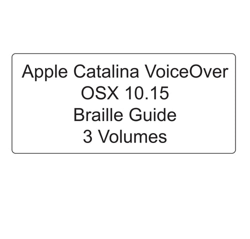 Front cover of the Apple Catalina OSX 10.15 OS Guide