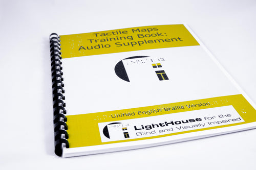 Cover of Audio supplement Tactile Maps Training Book