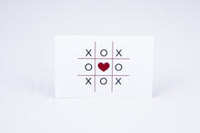 Load image into Gallery viewer, Tic-tac-toe with a heart in the middle