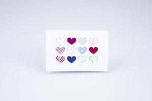 Valentine's Day Tactile Greeting Card (Choose your selection)