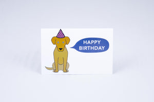 Happy Birthday Tactile Greeting Card (Choose Your Selection)