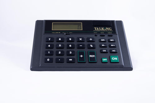 Desktop Talking Calculator in English