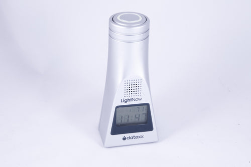 Talking Alarm Clock with built-in LED Flashlight