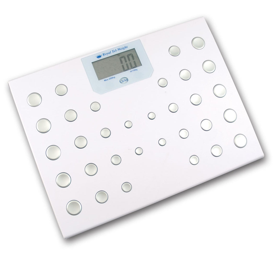 Royal Tel-weight Scale- English / Spanish