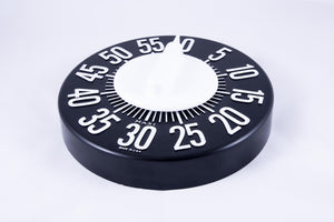 Low Vision Timer (White on Black)