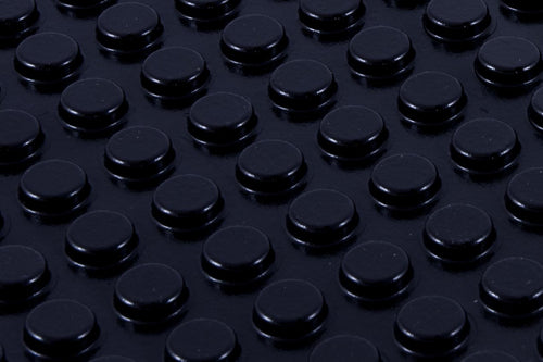 Black, Round, Medium Bump Dots in bulk