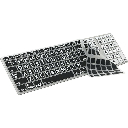 Large Print Apple Keyboard Skin