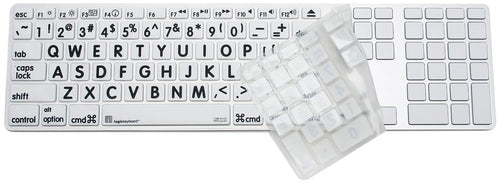 Large Print Magic Keyboard Skin