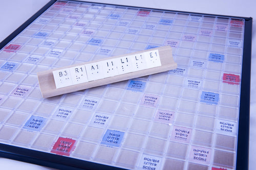 Scrabble, Deluxe Braille