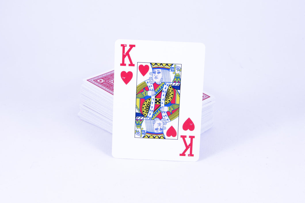 Large Print + Braille Playing Cards