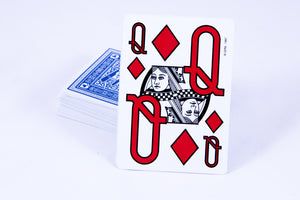 Large Print Playing Cards (front and back)