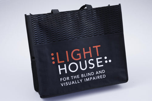 Lighthouse Track Tote Bag
