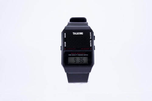 Talking Watch, Square: Spanish
