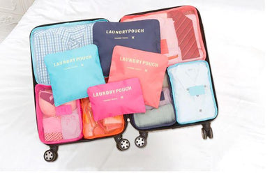 6 Pcs Luggage Packing Organizers