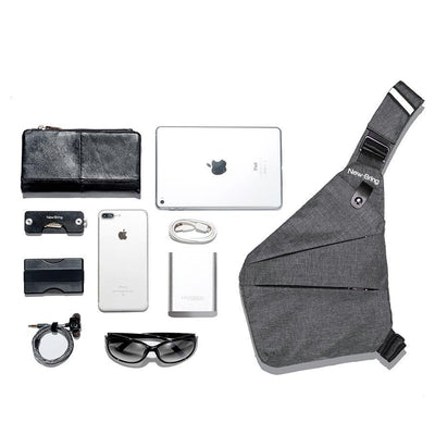 Easy Travel Super-Lite Bag - Fast Access Wallet/Passport/Keys Pockets