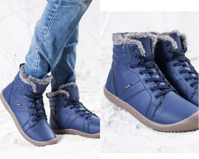 Mens Winter Waterproof Snow Boots
