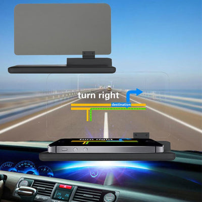 Phone In Car Heads Up Display