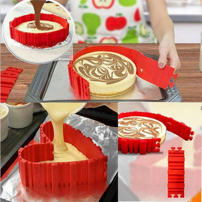 The Baking Snake Mould ( 4 Piece Set ) EXCLUSIVE