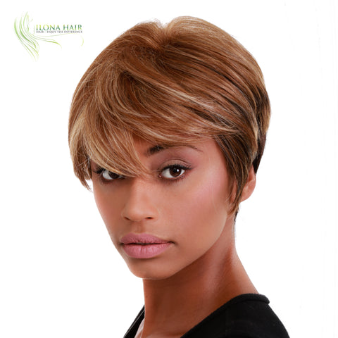 Bama | Synthetic Heat Friendly Wig (Basic Cap) | 12 Colors WIGS - Ilona Hair - Enjoy The Difference