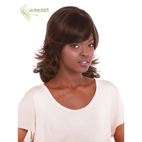 Benessa | Synthetic Wig (Basic Cap) | 5 Colors WIGS - Ilona Hair - Enjoy The Difference