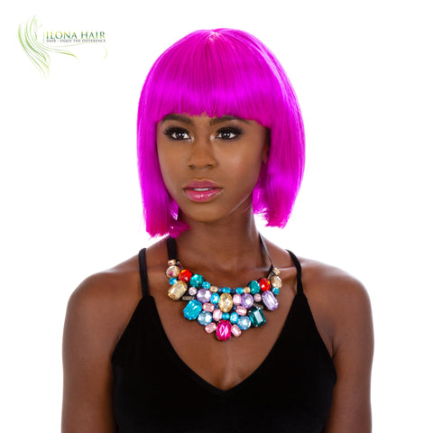 Bob Lux | Synthetic Hair Wig By Ilona Hair WIGS - Ilona Hair - Enjoy The Difference