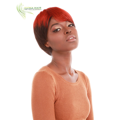 Breannie | Synthetic Heat Friendly Wig (Basic Cap) | 11 Colors WIGS - Ilona Hair - Enjoy The Difference