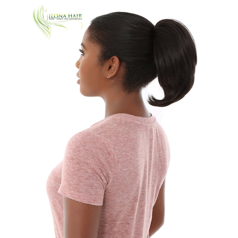 Calandra | Synthetic Ponytail (Calw Clip) | 13 Colors PONYTAILS - Ilona Hair - Enjoy The Difference