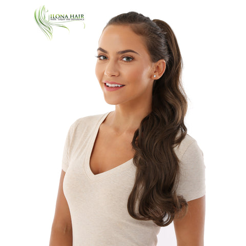 Camila | Synthetic Heat Friendly Ponytail (Claw Clip) | 14 Colors PONYTAILS - Ilona Hair - Enjoy The Difference