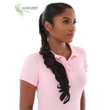 Charliz | Synthetic Heat Friendly Ponytail (Wrap Around) | 18 Colors