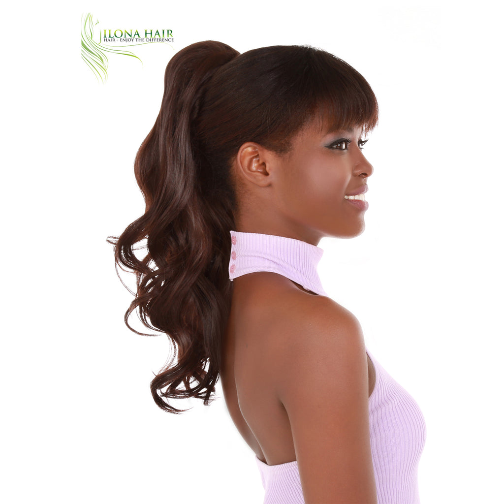 Clara | Synthetic Heat Friendly Ponytail (Clip-In) | 11 Colors PONYTAILS - Ilona Hair - Enjoy The Difference