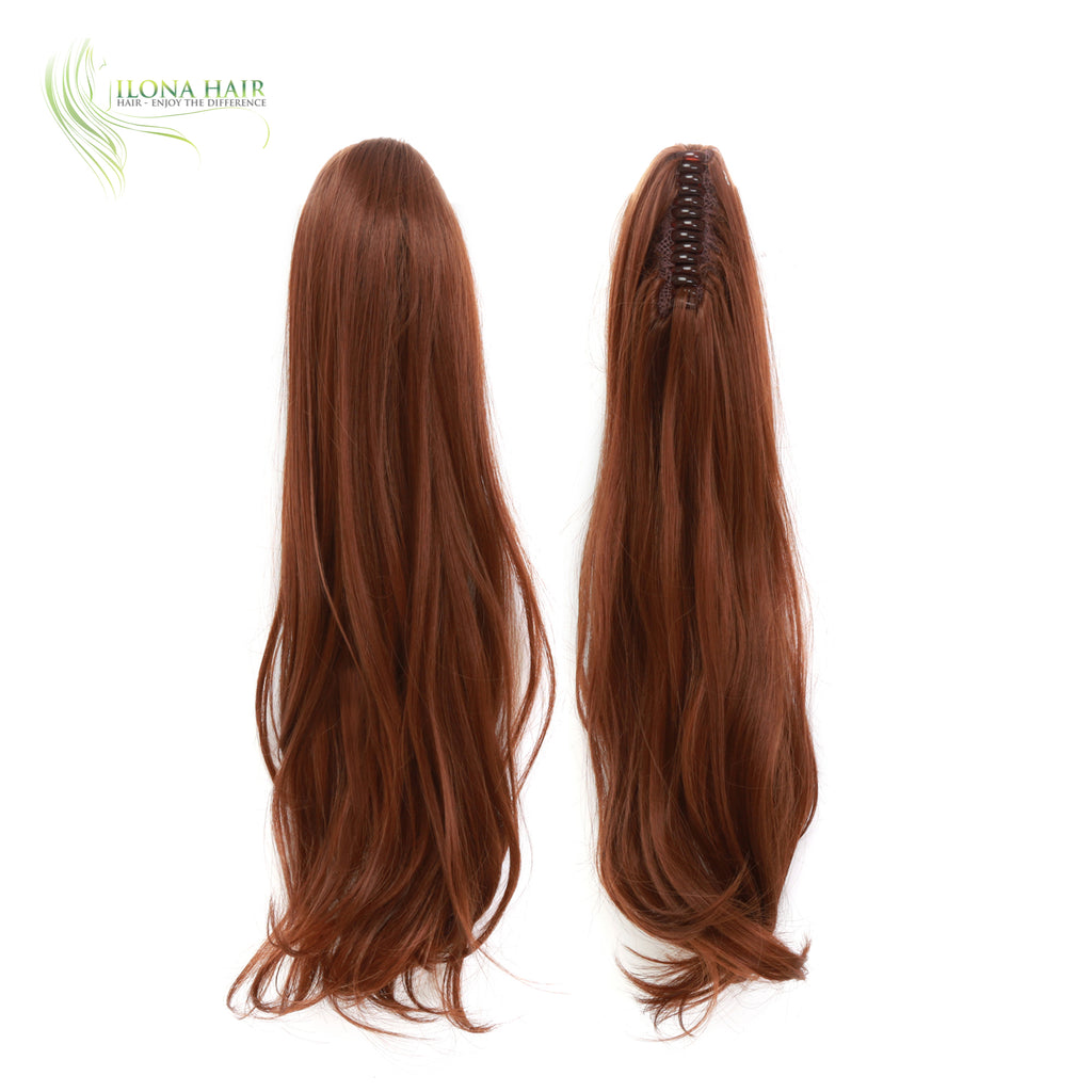 Cobra | Synthetic Heat Friendly Ponytail (Claw Clip) | 12 Colors PONYTAILS - Ilona Hair - Enjoy The Difference