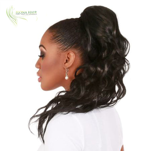 Cora | Synthetic Heat Friendly Ponytail (Drawstring) | 11 Colors