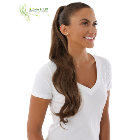 Courtney | Synthetic Ponytail (Claw Clip) | 8 Colors PONYTAILS - Ilona Hair - Enjoy The Difference