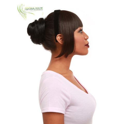Dora | Synthetic Heat Friendly Bangs | 12 Colors HAIRPIECES - Ilona Hair - Enjoy The Difference