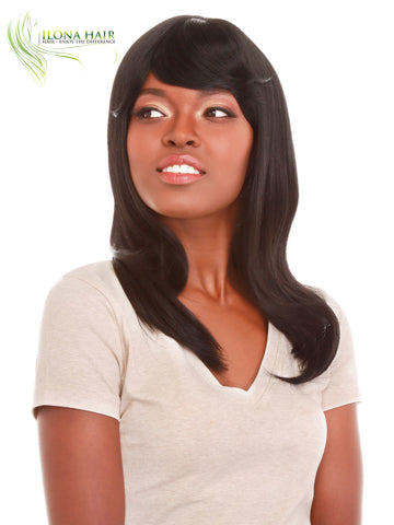 Sei | Synthetic Heat Friendly Wig (Basic Cap) | 5 Colors WIGS - Ilona Hair - Enjoy The Difference