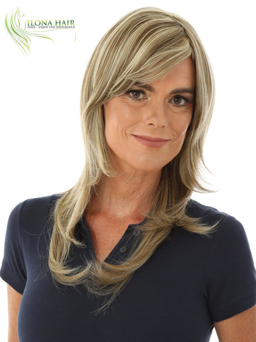Sheron | Synthetic Heat Friendly Wig (Monofilament) | 7 Colors WIGS - Ilona Hair - Enjoy The Difference