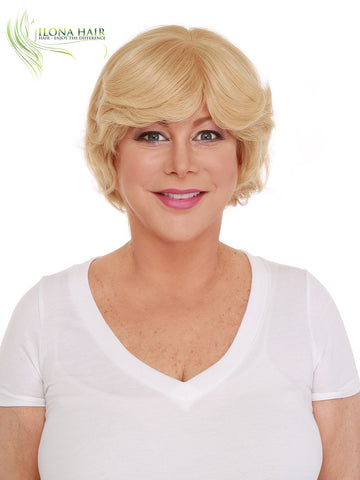Samantha | Human Hair Wig (Monofilament) | 18 Colors WIGS - Ilona Hair - Enjoy The Difference