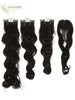 Pania | Synthetic Heat Friendly Extensions 4 Pcs (Non Clip-In) | 4 Colors EXTENSIONS - Ilona Hair - Enjoy The Difference
