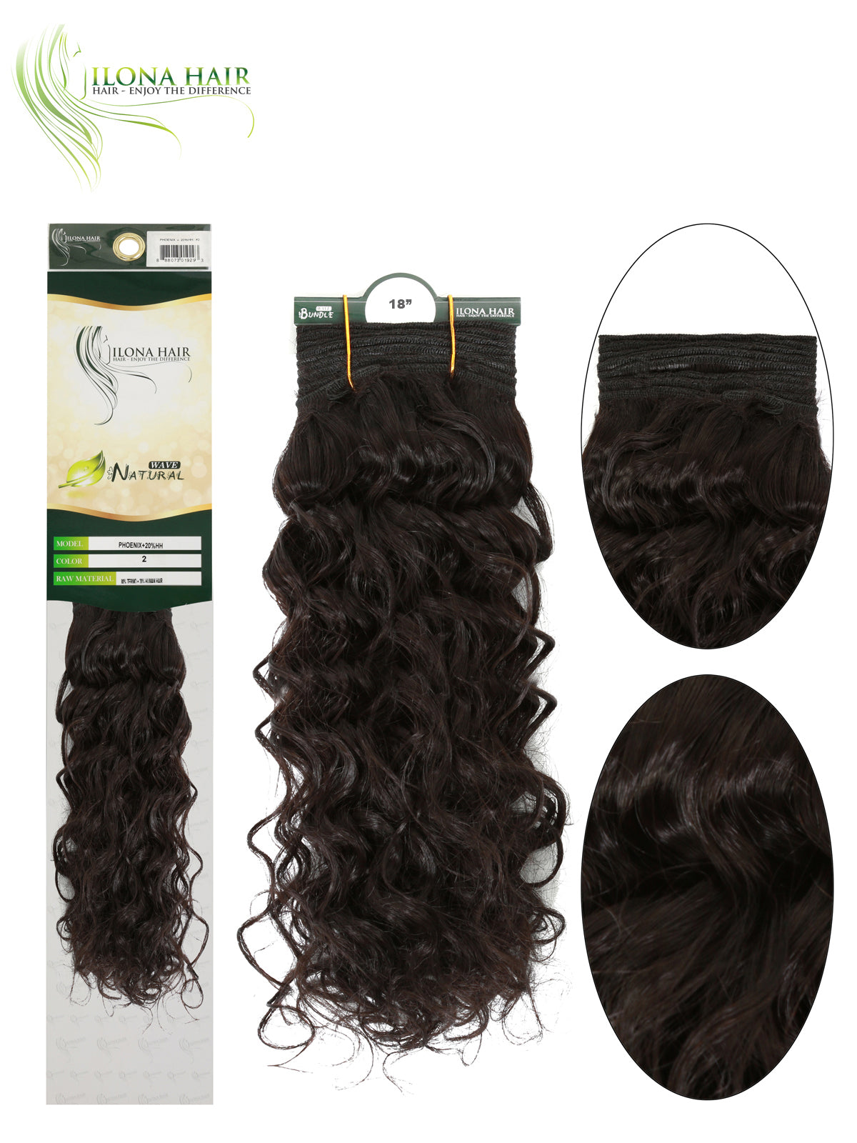 Phoenix Human Hair Blend Extensions Non Clip In 6 Colors Ebay