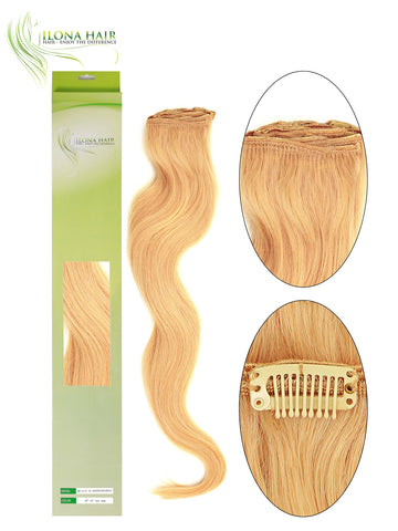 HH CLIP IN EXTENSION (8 PCS) EXTENSIONS - Ilona Hair - Enjoy The Difference